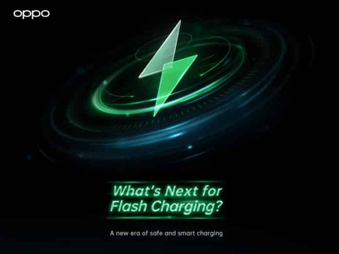 OPPO introduces a new generation of flash charging technology