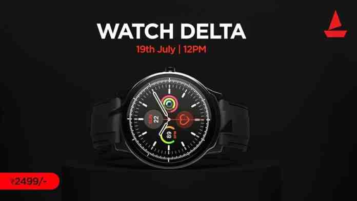 boAt launches Watch Delta with 3D Hologram Interface_technoSports.co.in