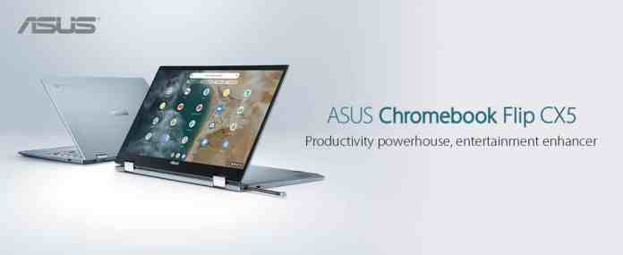 Asus launches its Chromebook Flip CX5400 powered by Tiger Lake processors