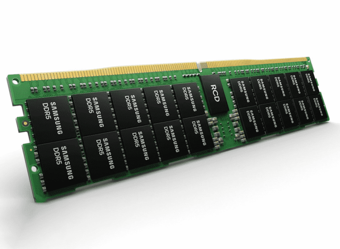 Samsung planning to mass-produce its 24GB DDR5 for 768 GB RAM modules of cloud datacenters