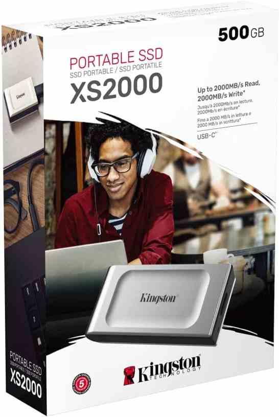 Meet Kingston's new Pocket-Sized XS2000 Portable SSD