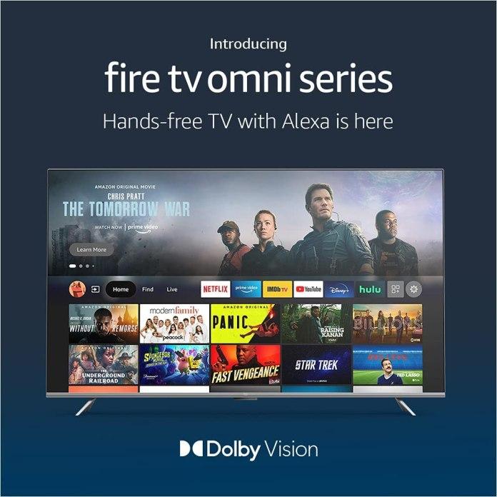 Amazon Fire TV Omni Series 4K UHD Smart TV starts at $409.99