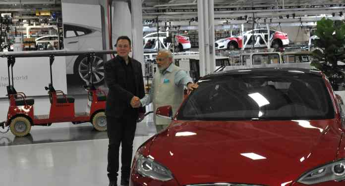Tesla could announce its electric car production as early as Next Year in India