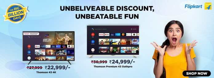 THOMSON TV offers Never before the seen price of 10,999 for its best selling 32PATH0011