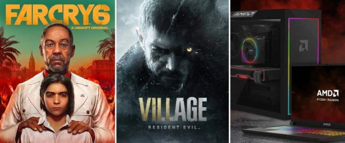 AMD Ryzen + Radeon Game Bundle Offer is here: Far Cry 6 and Resident Evil Village is up for grabs