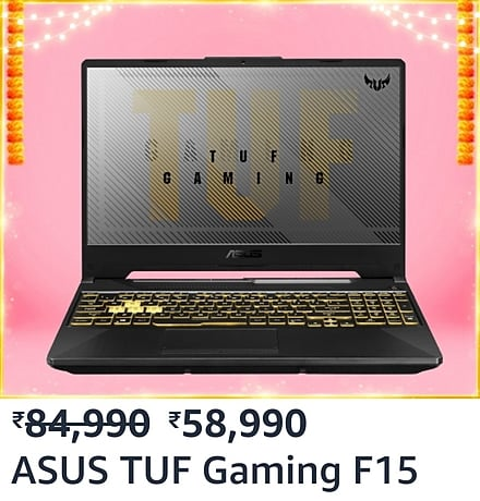 Best Gaming laptops deals on Amazon Great Indian Festival sale
