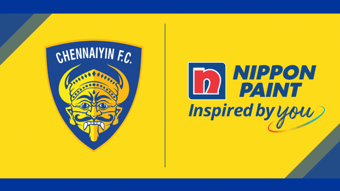 Nippon Paint becomes associate sponsor of Chennaiyin FC for the fifth year