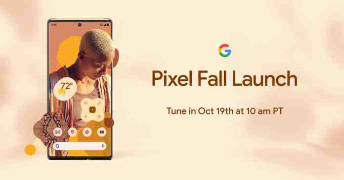 Google Pixel 6 series will launch on 19th October