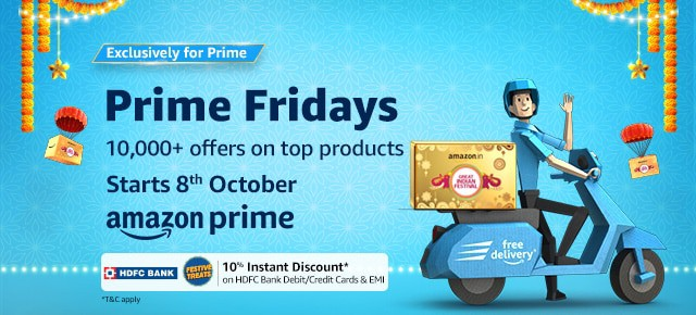 Amazon brings Prime Fridays to bring amazing offers for every Friday