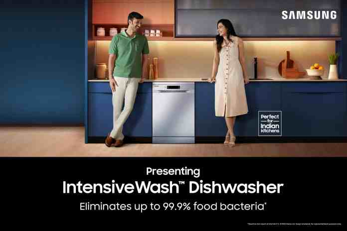 Samsung India launches Dishwasher Range with IntensiveWash™ & Triple Rinse Feature