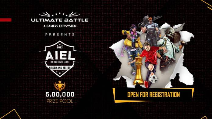 Registrations start for the inaugural edition of All India Esports League (AIEL) by Ultimate Battle