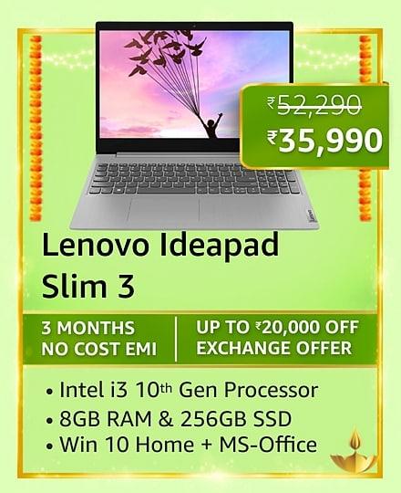 Best deals on laptops on Amazon Great Indian Festival