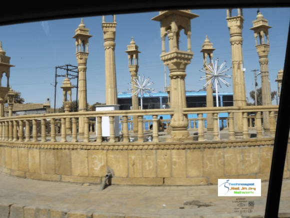 Jaisalmer Crossing in city