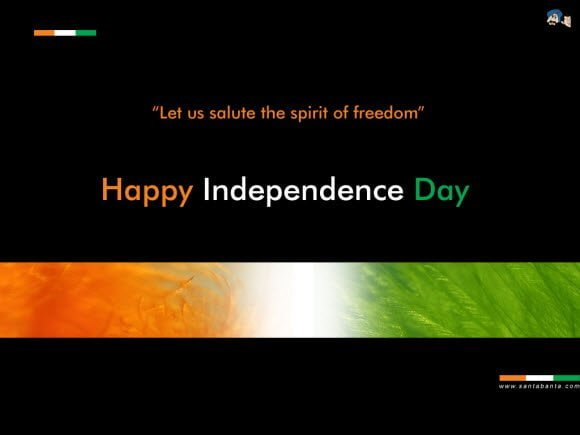 Salute the Spirit of Freedom Free Independence Day Theme for Windows 7