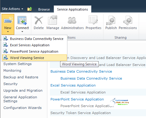 Adding Services for Office Web Apps