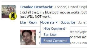 Boost Facebook Comments