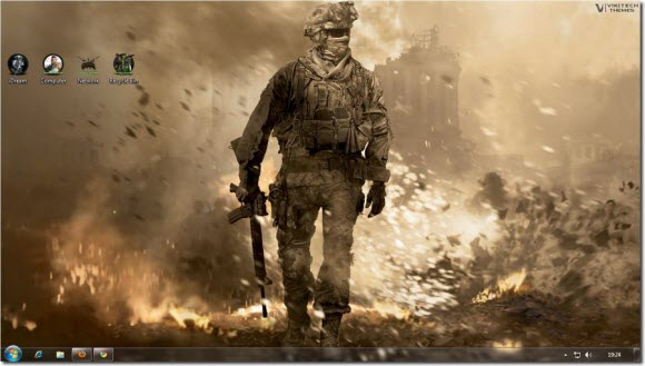 Call of Duty Windows 7 Theme