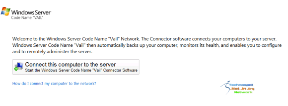 Connect computer to server