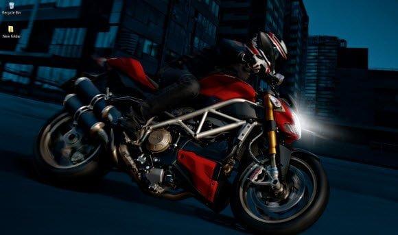 Ducati Theme for Windows 7 wall 2