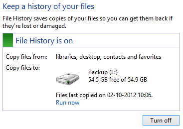 File history in Action