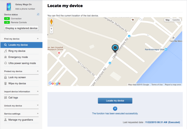 Find my Phone by Samsung