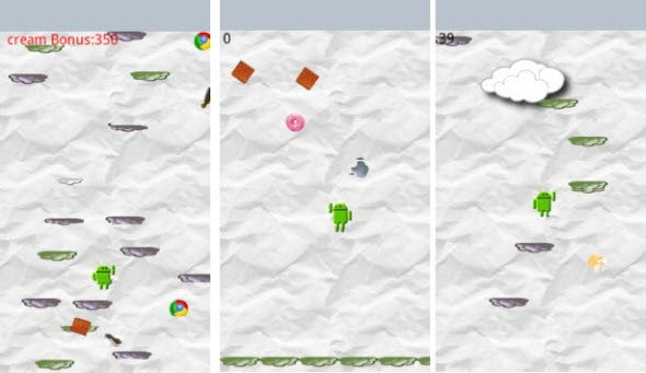 Free Android Game Droid Jump and Extreme Droid Jump