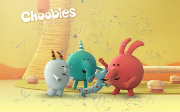 Free Download Choobies theme for Windows 7 for kids