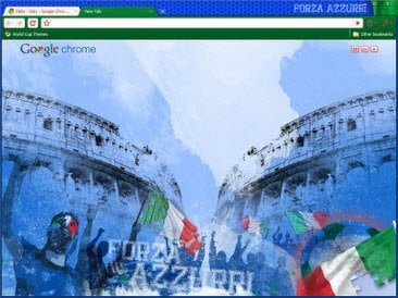 Free Download Italy theme for Google Chrome