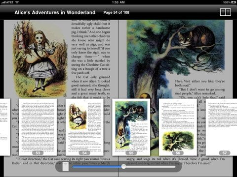 Free and Fast PDF and Comic reader app for iPad
