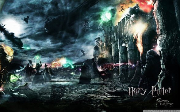 Free download Harry Potter 7 theme for Windows 7