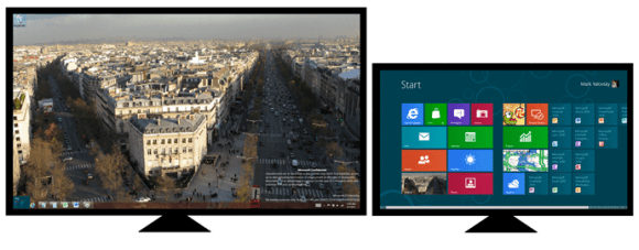 Multiple Monitor Charms and Start Menu Windows 8