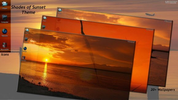 Sunset Theme for Windows 7