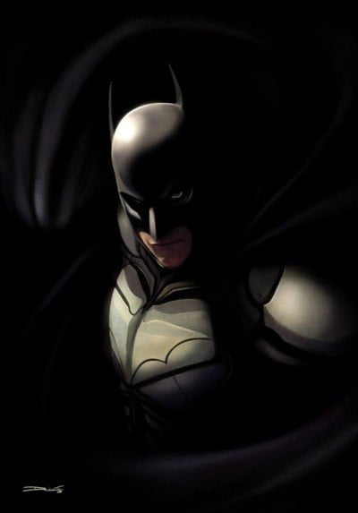 The Dark Knight Art