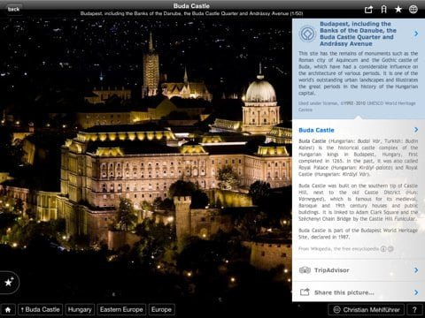 UNESCO World heritage sites on your iPad iPhone and iPod Touch free app Fotopedia