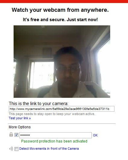 Watch your Webcam from Anywhere