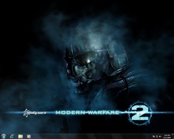Windows 7 Modern Warfare 2
