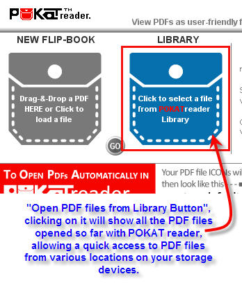 Pocket Readers Functions and Options