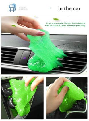 Technotech Super Clean Multipurpose Car AC Vent Interior Dust Cleaning Gel Jelly Detailing Putty Cleaner Kit Universal Car Interior, Keyboard, PC, Laptop, Electronic Gadget Cleaning Kit(Pack of 1)