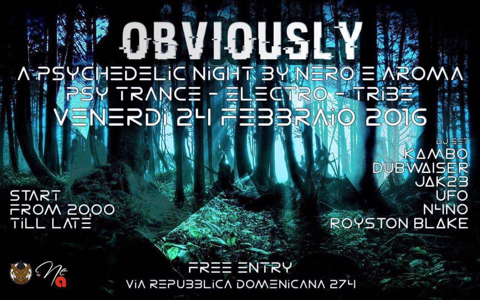 Obviously :: Notte GOA a Grosseto ::