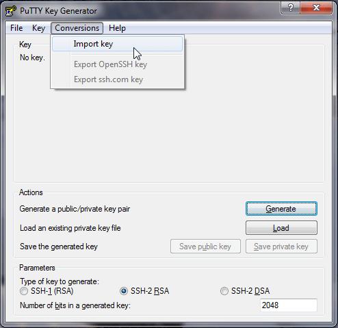 install puttygen linux
