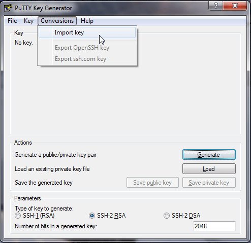 mac generate ssh key for aws