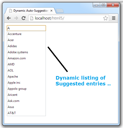 Dynamic-suggested-list-html5-jquery-php-mysql