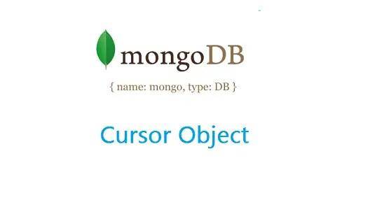 cursor-object-mongodb