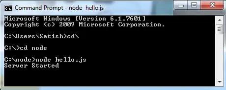 node-http-server-start