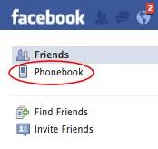 facebook-phonebook