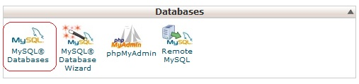 databases-cpanel