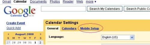 Google-calendar-mobile-setup