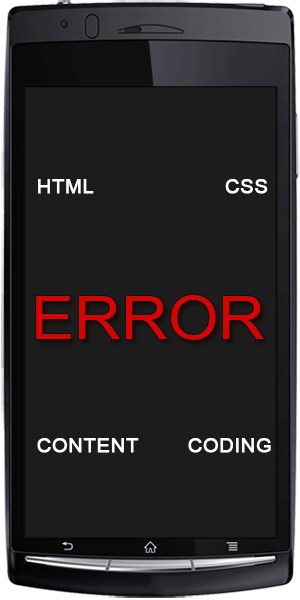 Mobile Web Design Avoiding Universal Errors