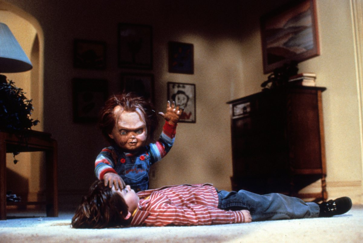 Child's Play: Chucky tries to possess Andy