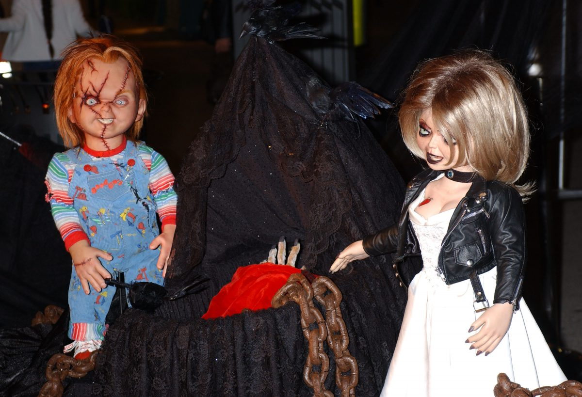 Chucky and Tiffany on the red carpet